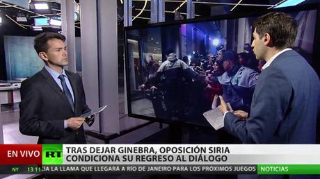 Tras dejar Ginebra, la oposición siria condiciona su regreso al dialogo