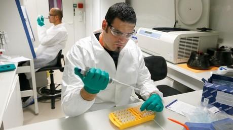 Una prueba del ADN