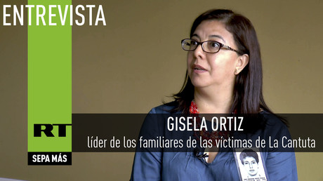 Entrevista con Gisela Ortiz, líder de los familiares de las víctimas de La Cantuta