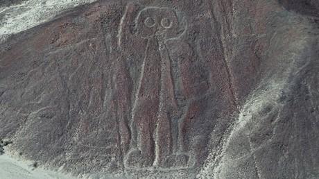 Una de las figuras del desierto de Nazca. Foto ilustrativa