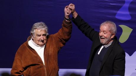Luiz Inácio Lula da Silva y José Mujica