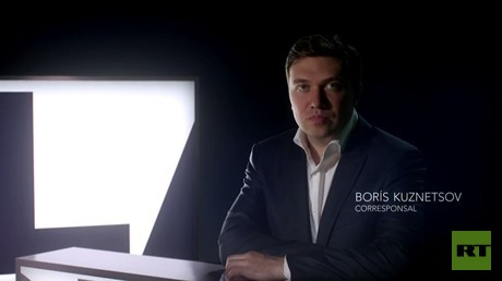 Borís Kuznetsov, corresponsal de RT