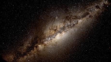 Una imagen de la galaxia de Vía Láctea tomada desde más lejos de la Tierra