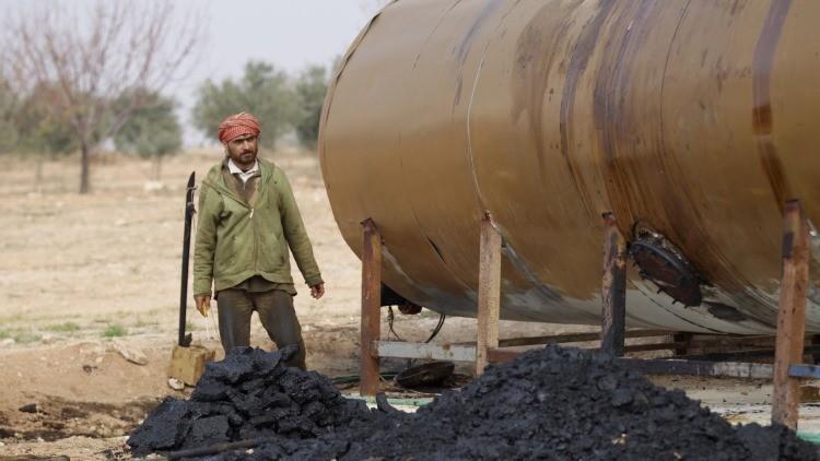 Una refinería al estilo yihadista