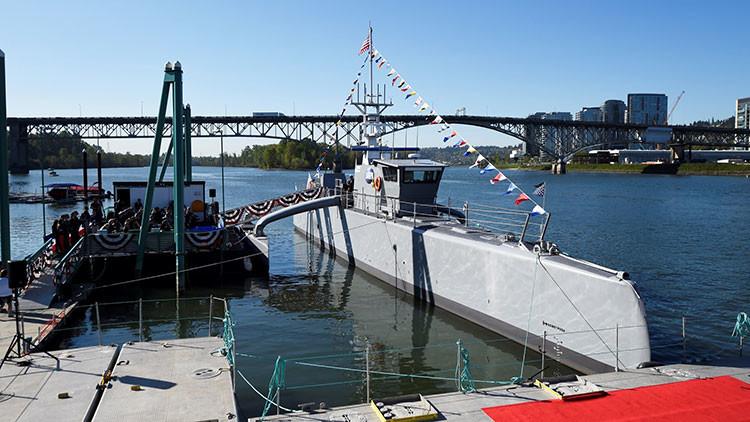 Video: EE.UU. prueba su 'buque fantasma' no tripulado para cazar submarinos