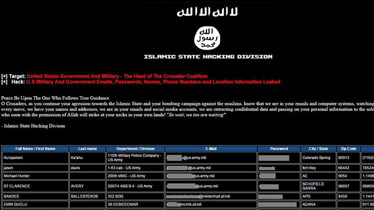 'Hackers' del Estado Islámico afirman que lograron infiltrarse en el Ministerio de Defensa británico