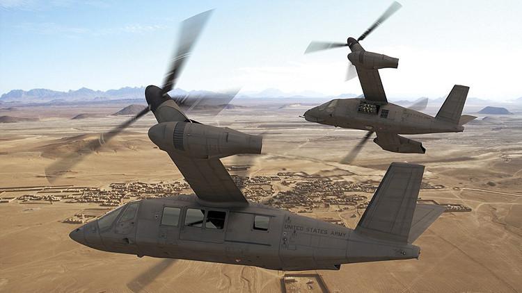 La batalla por los cielos: EE.UU. desarrolla sus próximos 'supercópteros'