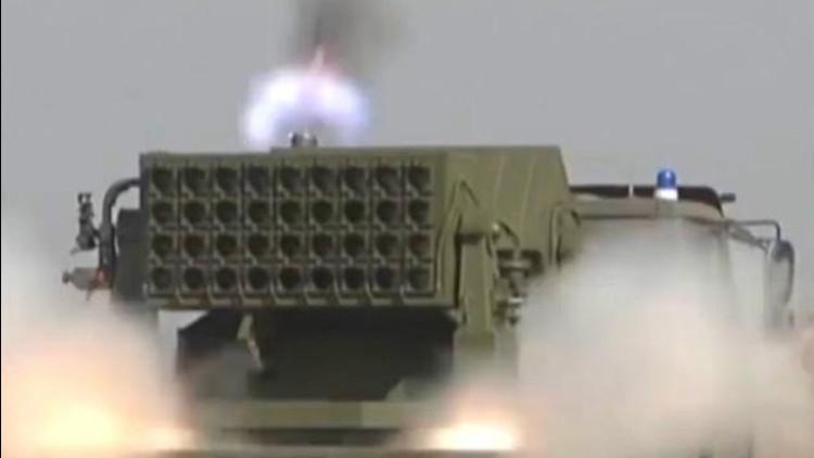 China hará frente a los láseres estadounidenses con humo