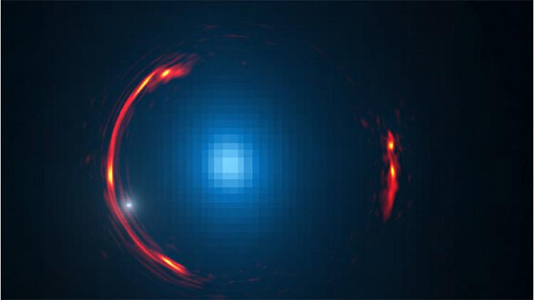 Descubren qué objeto oscuro oculta el anillo de Einstein