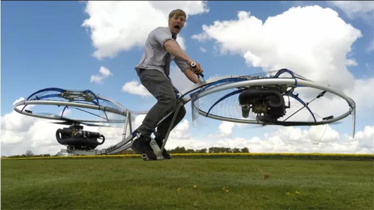 Video: La moto voladora ya es una realidad