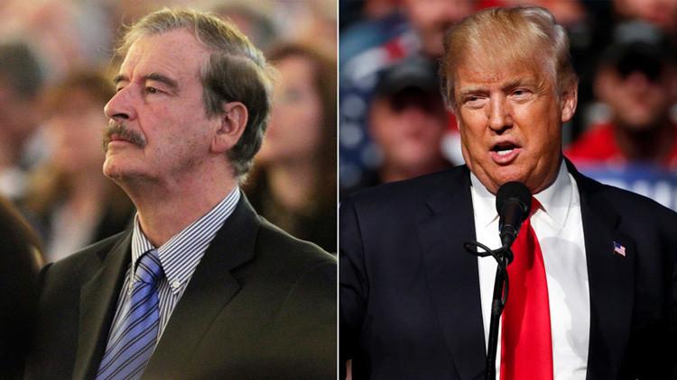 El expresidente mexicano Vicente Fox pide disculpas a Donald Trump
