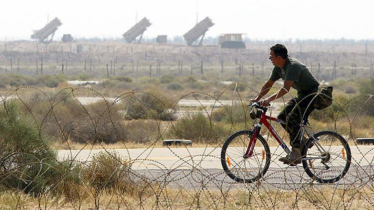 Ladrones desactivan una batería de defensa aérea Patriot en Kuwait