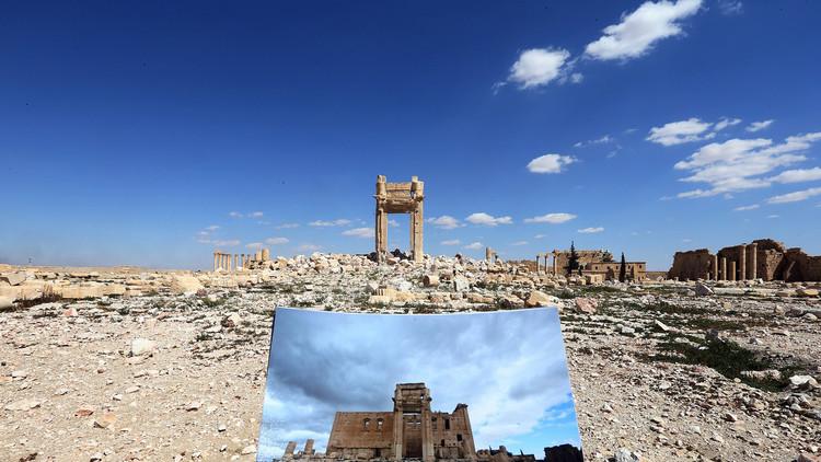 Militares rusos logran desminar por completo la histórica ciudad de Palmira
