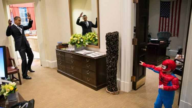 Videos: Así se divierte Obama durante los últimos meses de su presidencia
