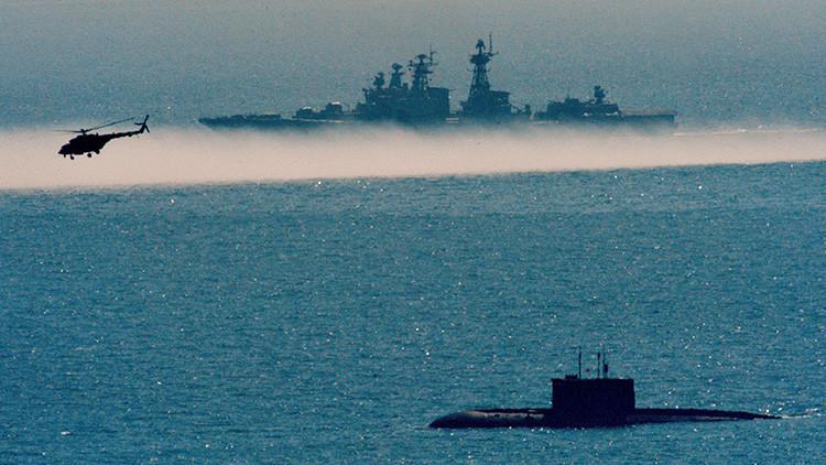 Un submarino sigiloso ruso prueba sus misiles de crucero Kalibr en el mar de Barents