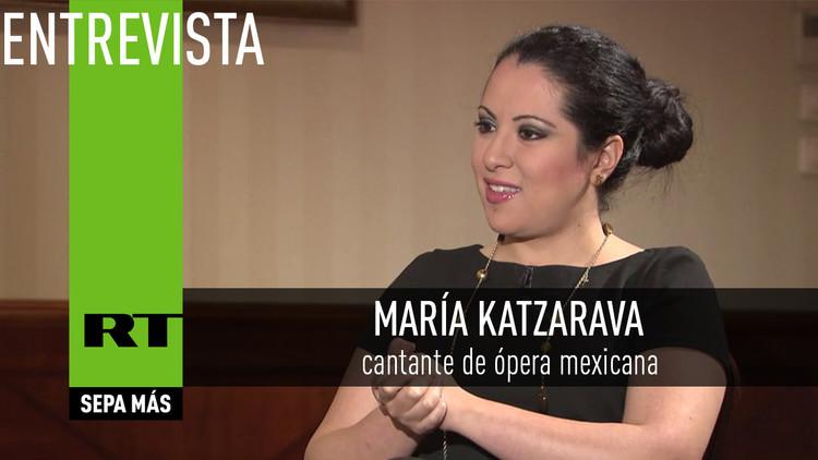 Entrevista con María Katzarava,  cantante de ópera mexicana