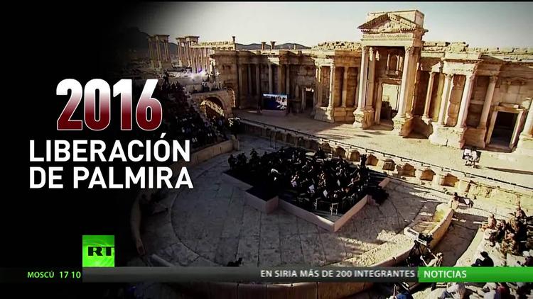La música en Palmira sana heridas de la guerra y el terrorismo