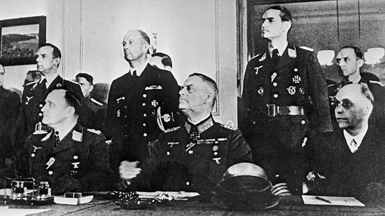 Grabaciones históricas: ¿Cómo fue la rendición de la Alemania nazi?
