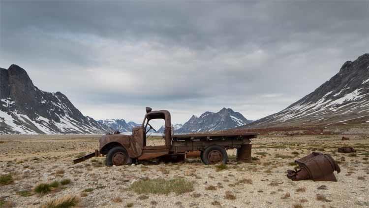 Fotos: Una base militar de EE.UU. abandonada que sigue siendo una amenaza