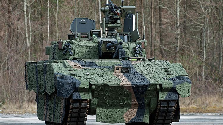 Carrera militar europea: tanques británicos serán construidos en España con hierro sueco