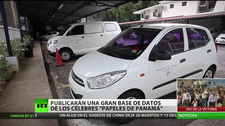 Publicarán una gran base de datos de los célebres 'papeles de Panamá'