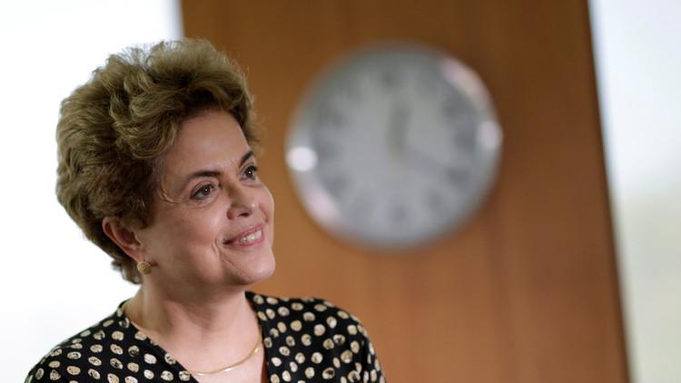 """Dilma Rousseff: """"El último día de mi mandato será el 31 de diciembre de 2018"""""""