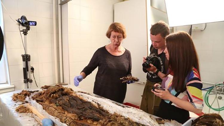 Buscan los familiares modernos de una antigua momia siberiana