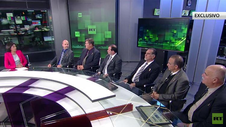 """Los Cinco Cubanos en RT: """"EE.UU. sigue con el bloqueo injusto de Cuba"""" (EXCLUSIVA)"""