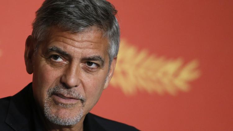 """George Clooney: Trump no será presidente porque """"el miedo no va a dominarnos"""""""