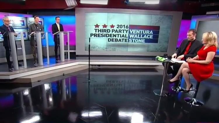 RT America abre los debates presidenciales a los candidatos de las fuerzas minoritarias