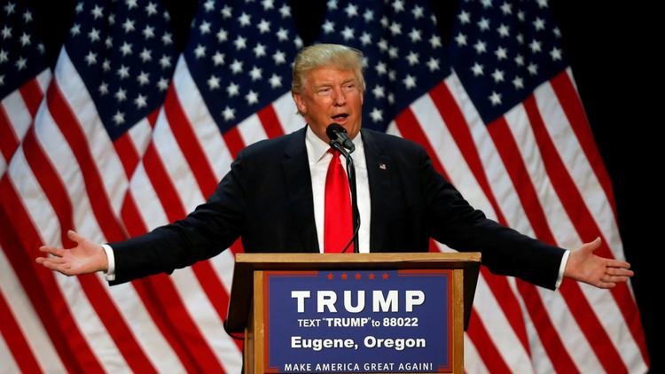 """Trump: """"Me esfuerzo mucho por pagar lo menos posible en impuestos"""""""