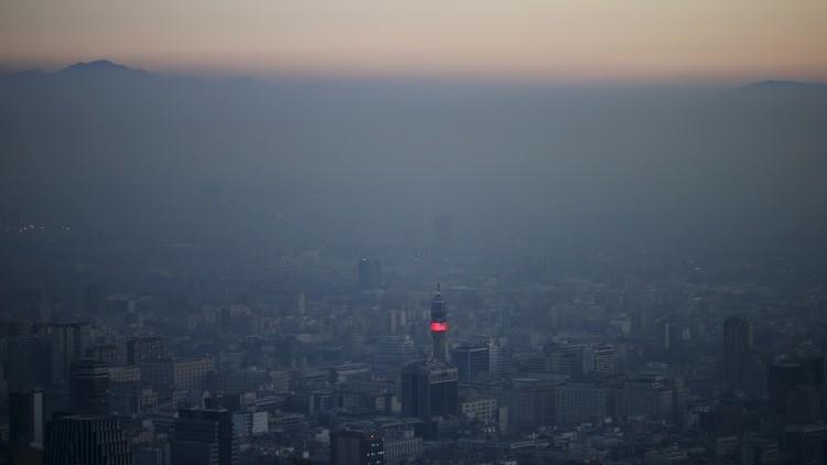La OMS localiza en Chile la ciudad con el aire más contaminado de América Latina