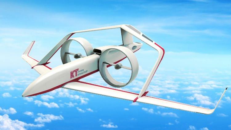 El modelo a escala del innovador avión ruso Frigate se pone a prueba (VIDEO)