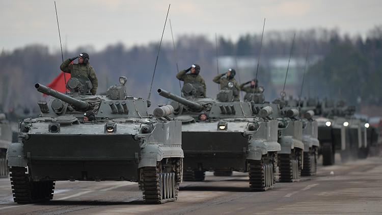 144 novedosos vehículos blindados BMD-4M se incorporarán al Ejército ruso este año