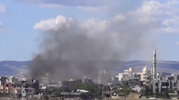 Nueva ofensiva del Ejército turco contra una ciudad kurda cerca de la frontera con Siria (Video)