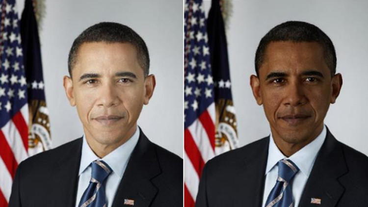 El color de la piel, motivo de muchos estadounidenses para no apreciar a Obama
