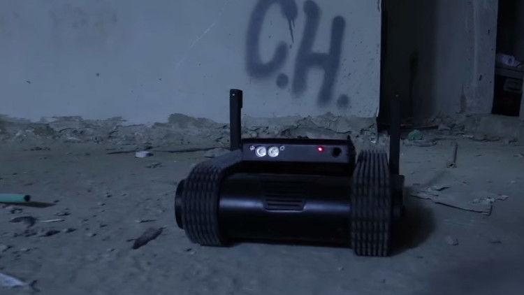 Pequeño y mortal: conozca el versátil robot portátil capaz de disparar (video)