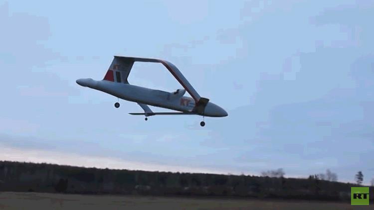 Video: Así es el primer dron pesado de Rusia