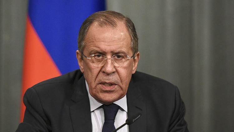 Lavrov: EE.UU. es consciente de la importancia del cumplimiento de los acuerdos sobre Siria