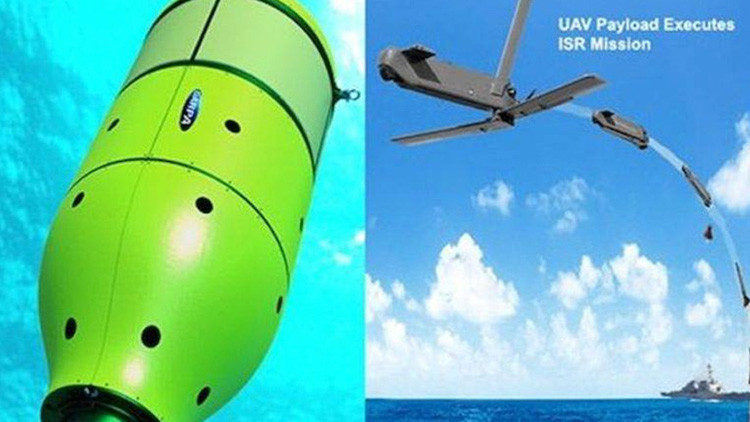 El Pentágono prueba los drones que podrán 'dormir' en el mar durante años sin ser detectados