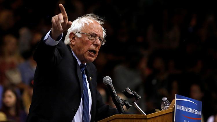 """Sanders a RT: """"Soy el candidato más fuerte para enfrentarse a Donald Trump"""""""
