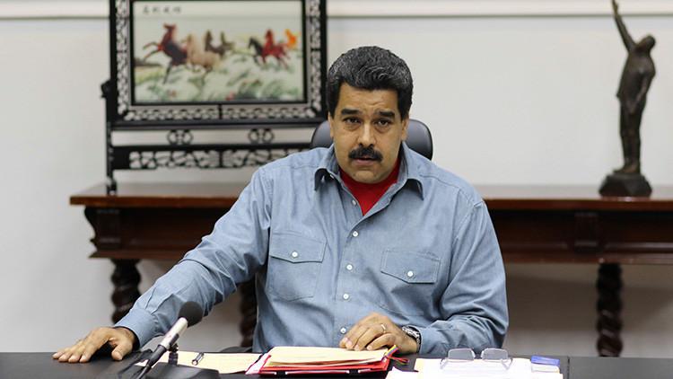"""Maduro denuncia una incursión ilegal de avión """"letal"""" de EE.UU. en el espacio aéreo de Venezuela"""