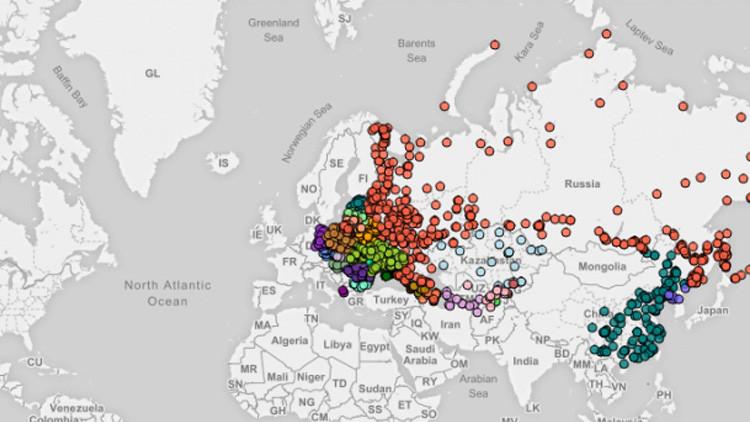 Mapa interactivo: ¿Qué pasaría si EE.UU. lanza bombas nucleares a sus 1.100 objetivos?
