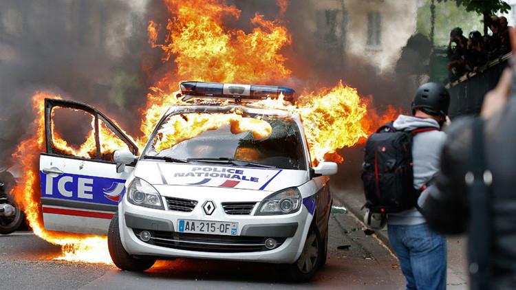 Francia, sumergida en violentas y masivas protestas: ¿Qué sucede en París?