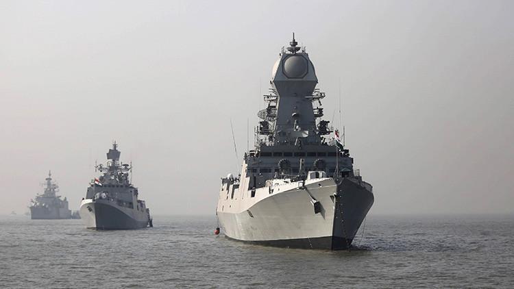 Marcando territorio: India envía buques furtivos al mar de la China Meridional y el Pacífico