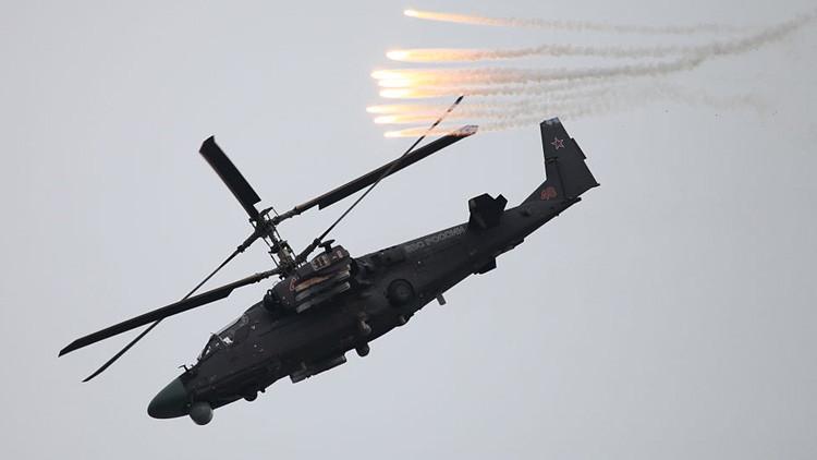 Rusia: Todo listo para exportar helicópteros de ataque Ka-52 Alligator