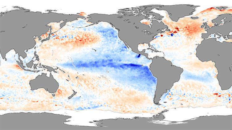 La Niña traerá frío y sequías al Pacífico y huracanes al Atlántico