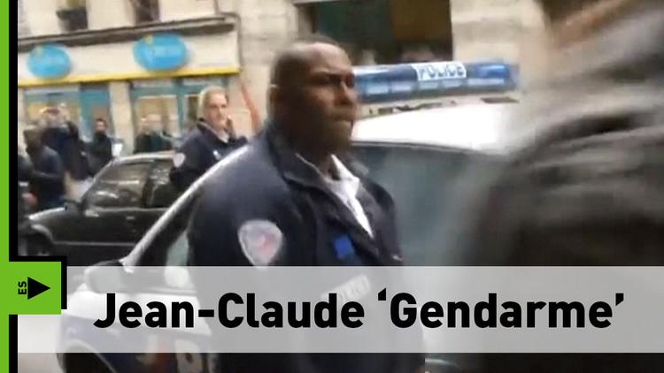 ¿Ya conoces al policía 'Van Damme' francés?