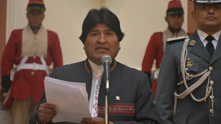 """Evo Morales: """"Bolivia no es una colonia yanqui"""""""