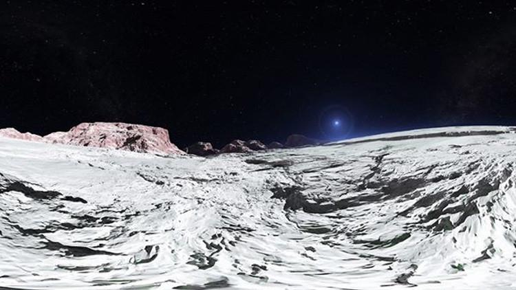 """""""Donde ninguna criatura ha estado"""": 'Visite' Plutón en este impactante video en 360º"""